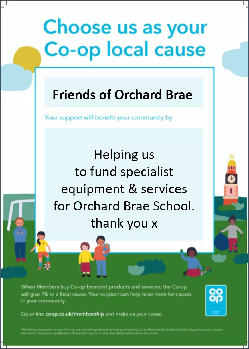 Support Orchard Brae via your local Coop!