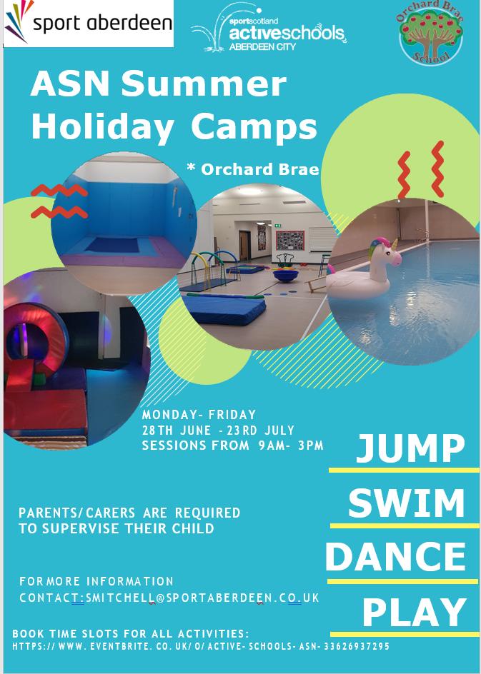 ASN Summer Holiday Camps